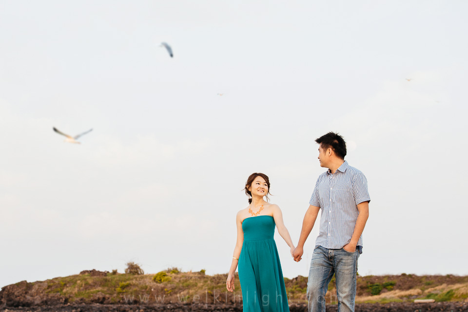 Korea Island Pre Wedding Photography
