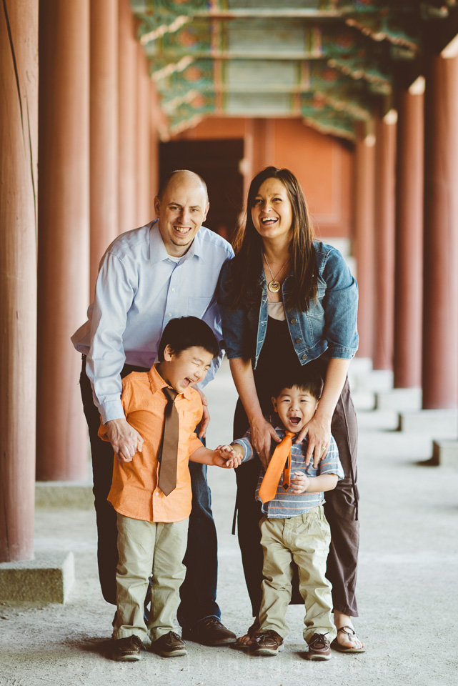 Korea Adoption Family Photography
