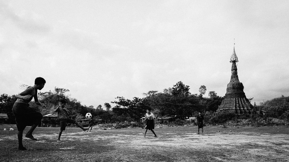 Football - Mrauk U Travel Photographer