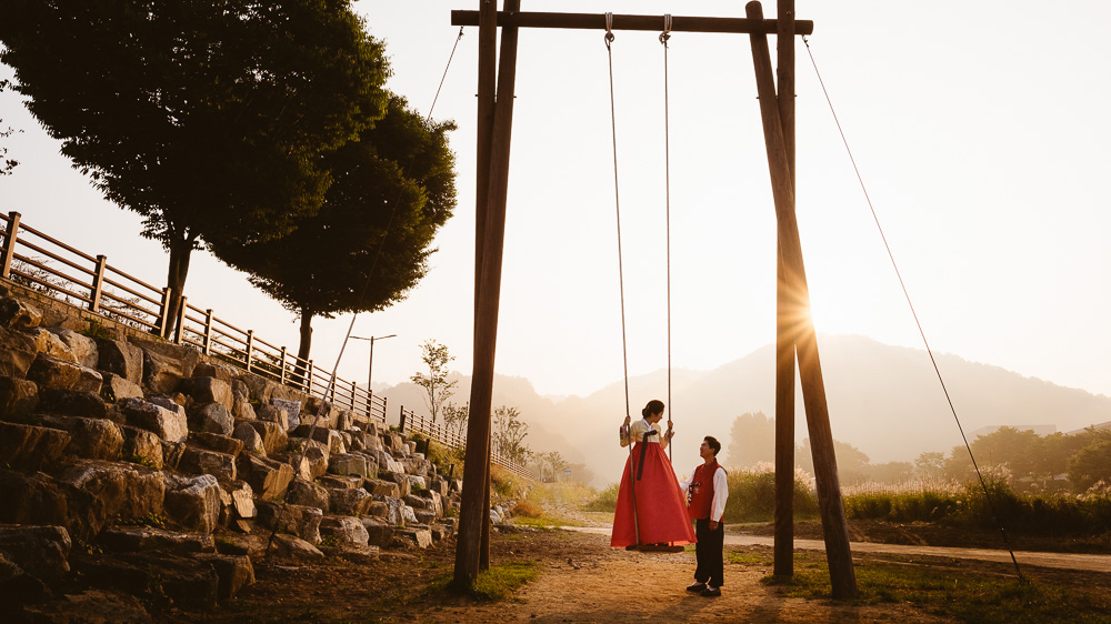 Korea Pre-wedding Photography, Jeonju