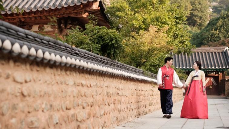 Pre-wedding Photography - Jeonju, Korea