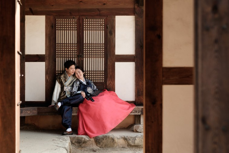 Pre-wedding Photographer, Jeonju, Korea