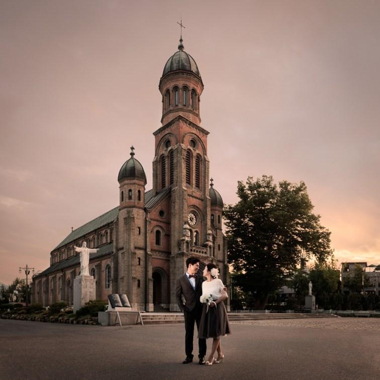 Pre-wedding Photography, Jeonju, Korea