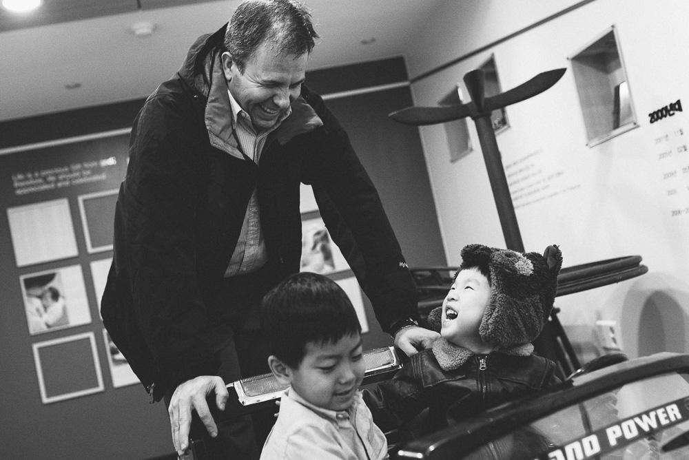 Korea Family Photographer - Sharp