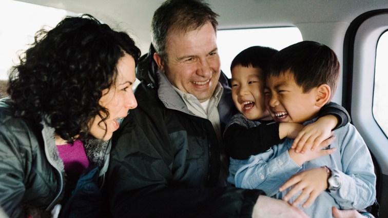 Family Photographer in Korea - Sharp