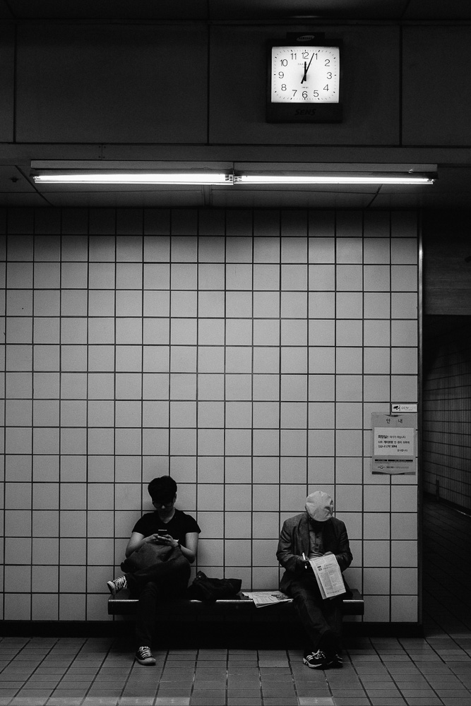 Photographer in Seoul, South Korea