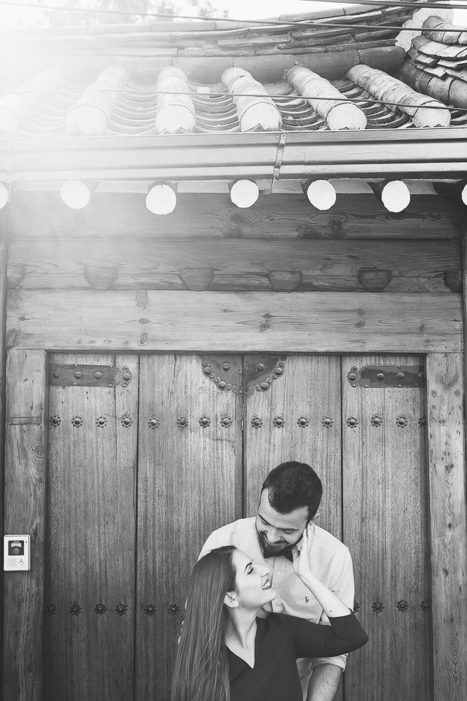 Bukchon, Seoul Pre-Wedding Photographer - Michele and Miranda