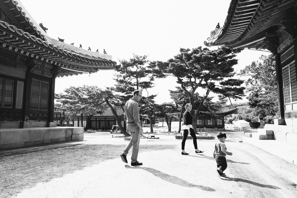 Family Photographer in Seoul - The Porters