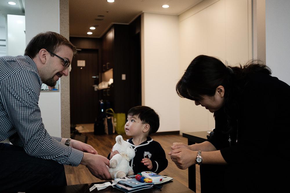 English Speaking Family Photographer in Seoul - Sarracino