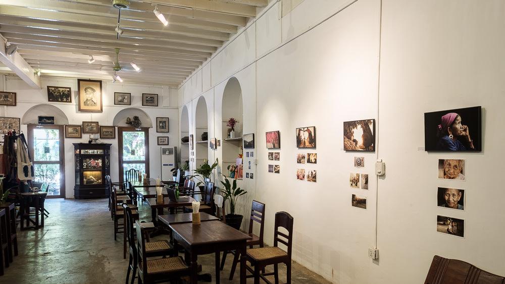 Exhibition in Yangon, Myanmar