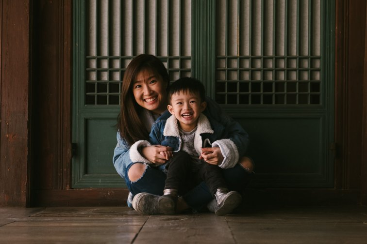 Family Photographer in Seoul - Elyzabeth and Jepsen
