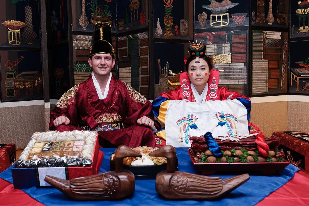 Traditional Korean Wedding Photography