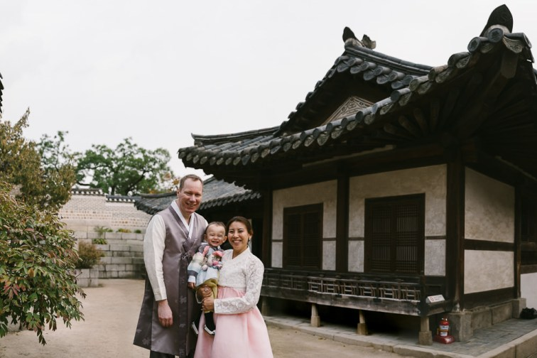 Hanbok Family Photography Korea