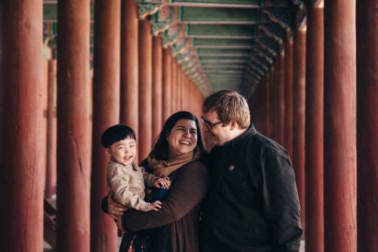 Family Portrait Photographer Seoul, Korea - Hudec