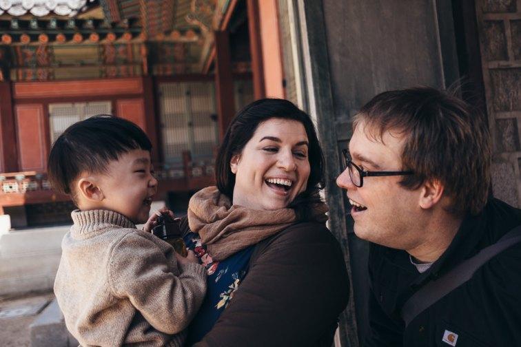 Family Portrait Photographer Seoul, Korea - Hudec