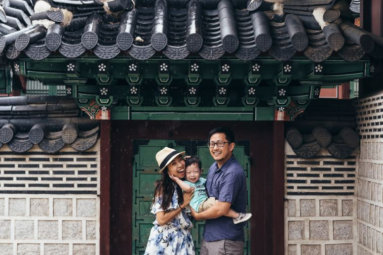 Gyeongbokgung Family Photography Seoul Korea