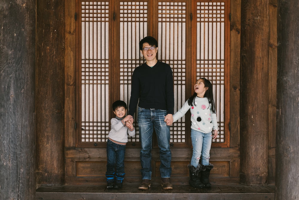 Korean Traditional Family Portrait
