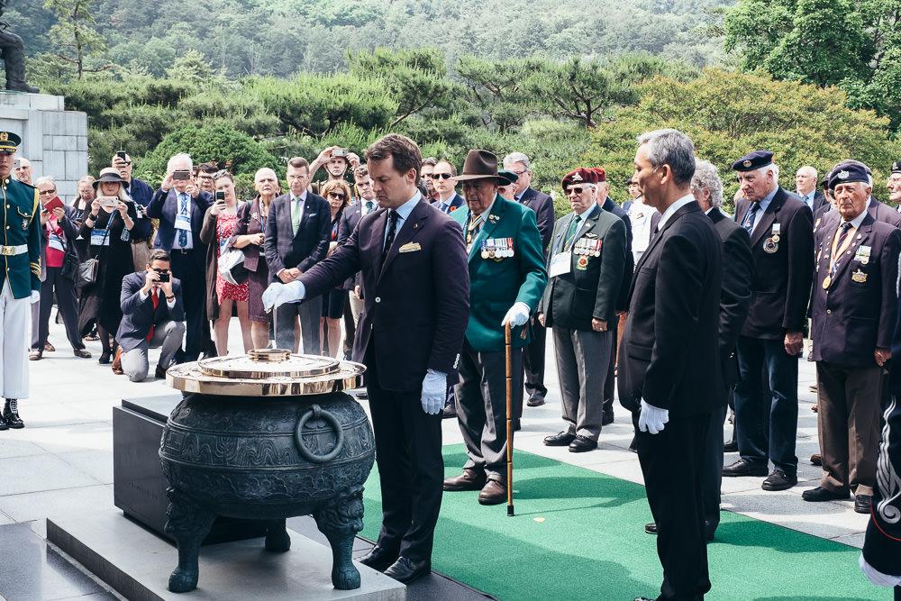 Event Photographer Korea - Ash Ceremony at National Cemetery