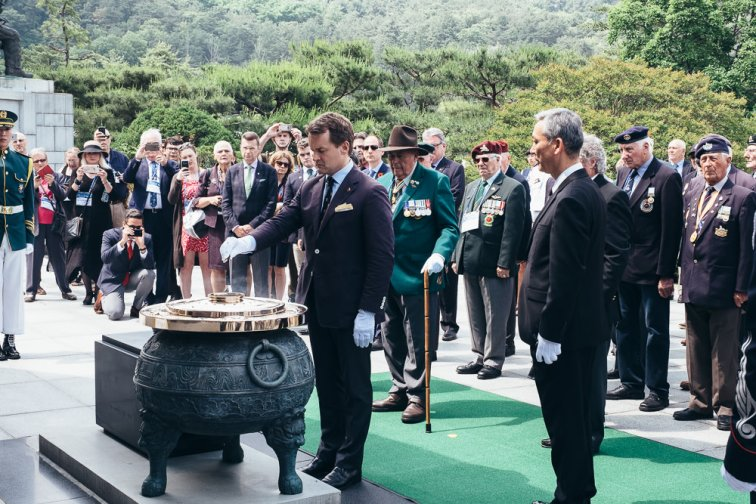 Event Photographer Korea - Ash Ceremony at National Cemetery