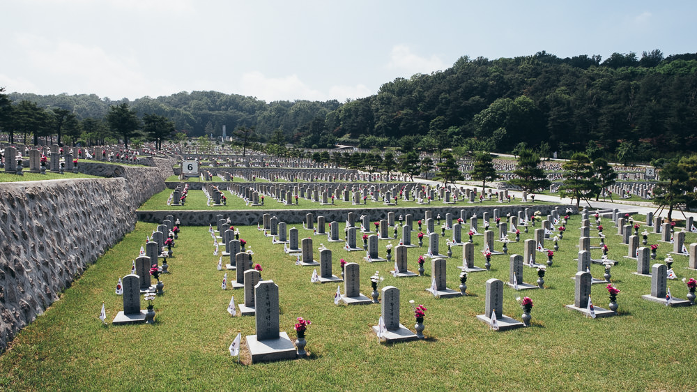 Event Photographer Korea - National Cemetery
