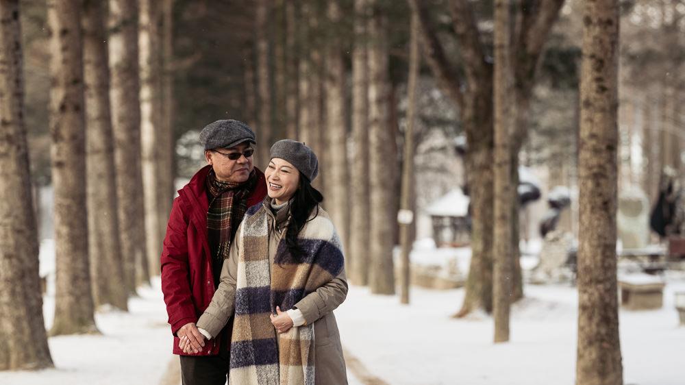 Korea Couple Photographer - Nami Island