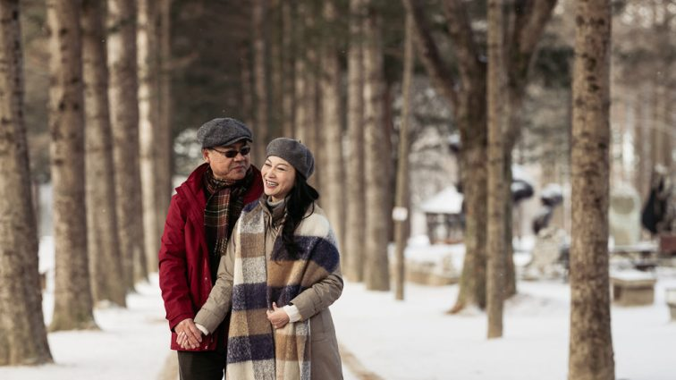 Korea Couple Photographer - Nami Island