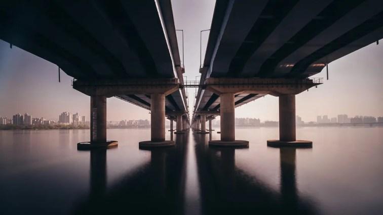 Seoul Pollution - Mapo Bridge