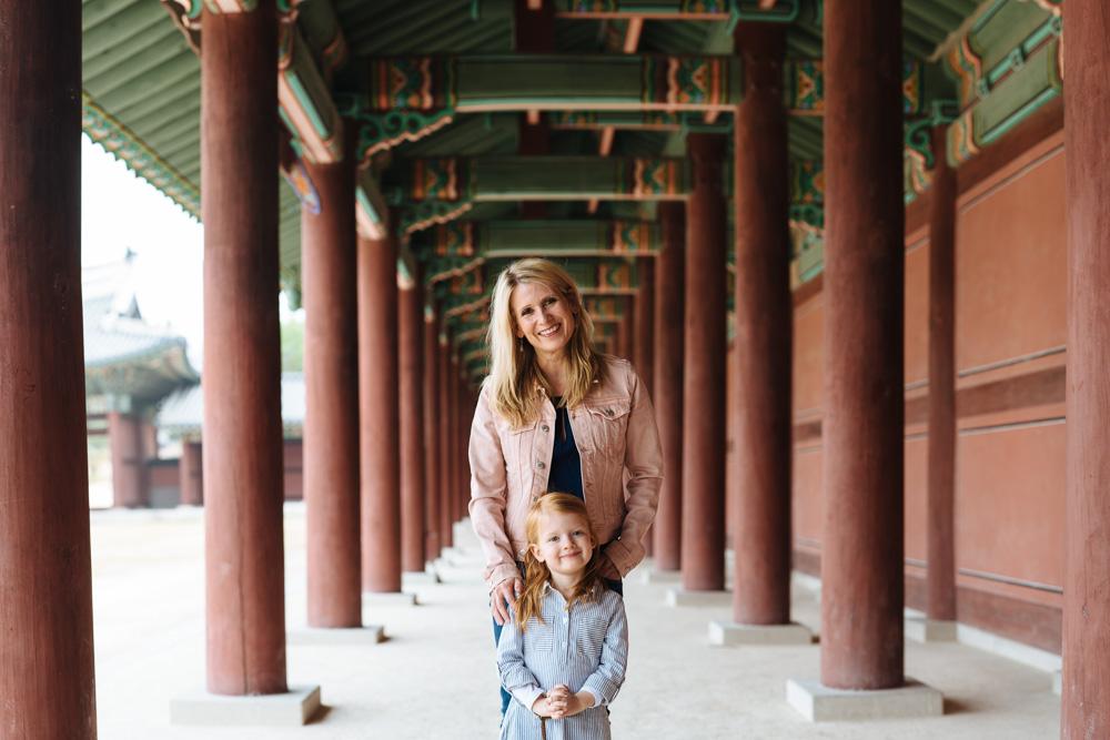 Greta with her Mother - Elbracht Family Portraits