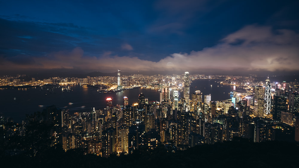 Hong Kong Skyline - Travel Photographer