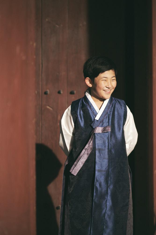 Boy in Hanbok - Family Photographer in Korea