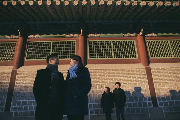 Winter Light - Family Photographer in Korea