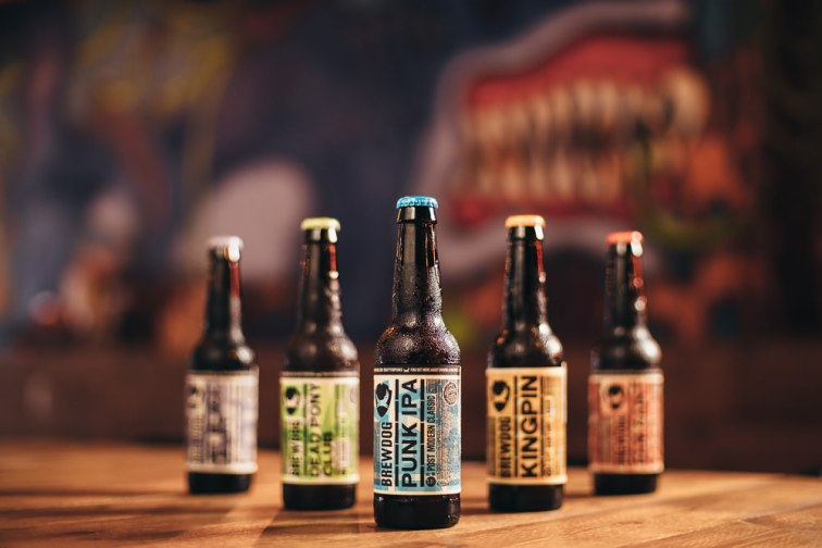 Commercial Photographer in Seoul - Brewdog Itaewon Outpost Beer Lineup