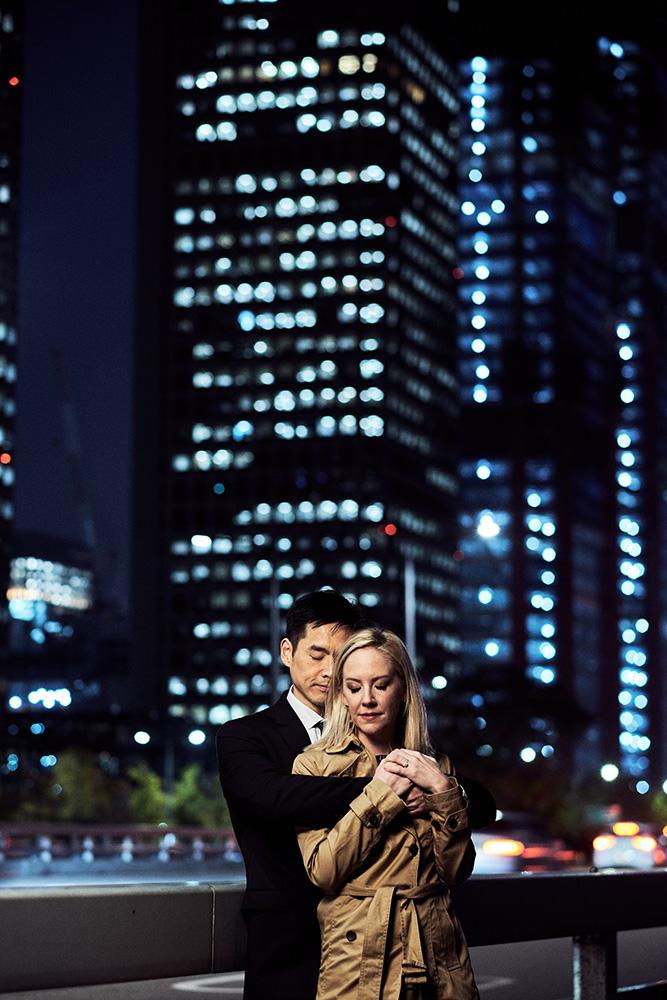 Night Couple Photography in Yeouido - Seoul Pre-Wedding Photographer