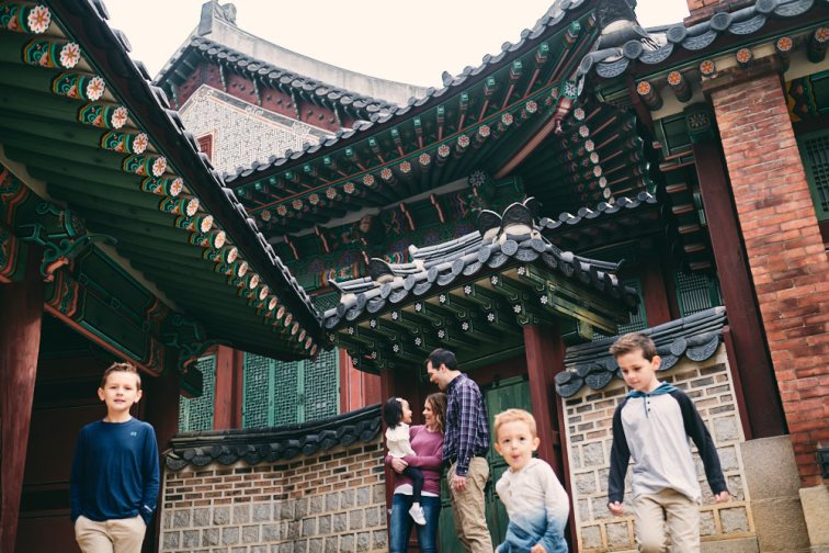 Family Photo Shoot in Seoul