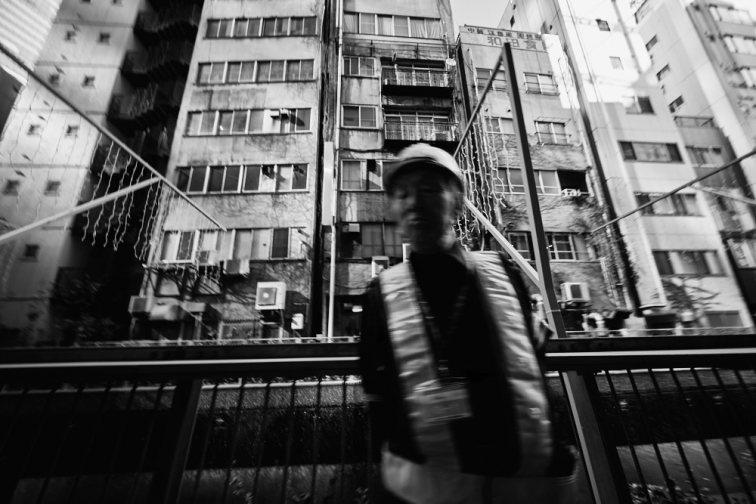 Construction Worker in Tokyo