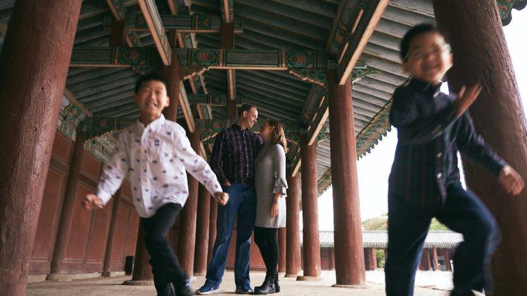 Seoul, Korea, Family Photographer - Ashcraft Family Lifestyle Session