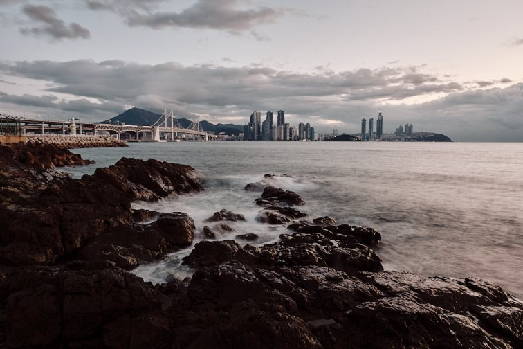 Busan Skyline as Seen from Igidae Park