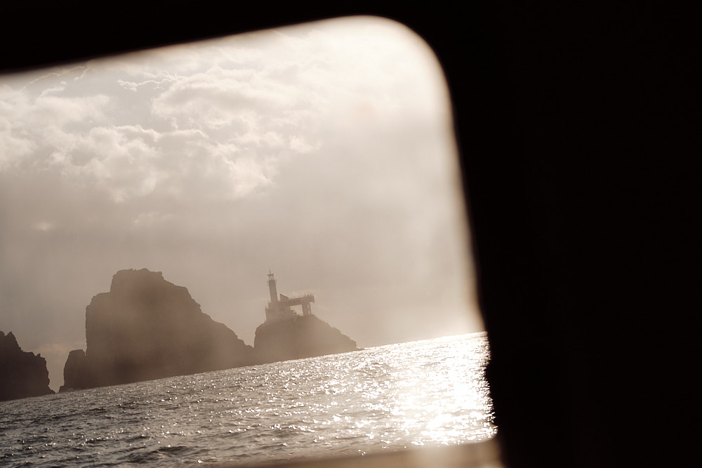 The Lighthouse from Inside the Boat