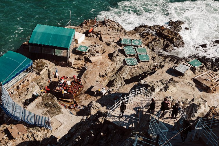 Haenyeo Restaurants - Yeongdo Lighthouse