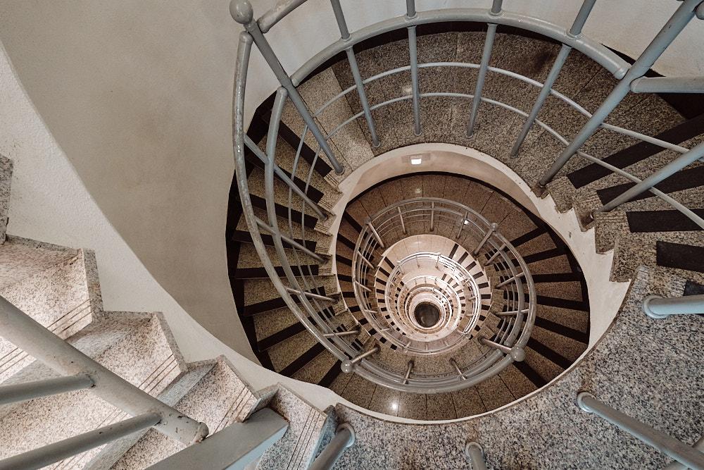 Yeongdo Lighthouse Stairs