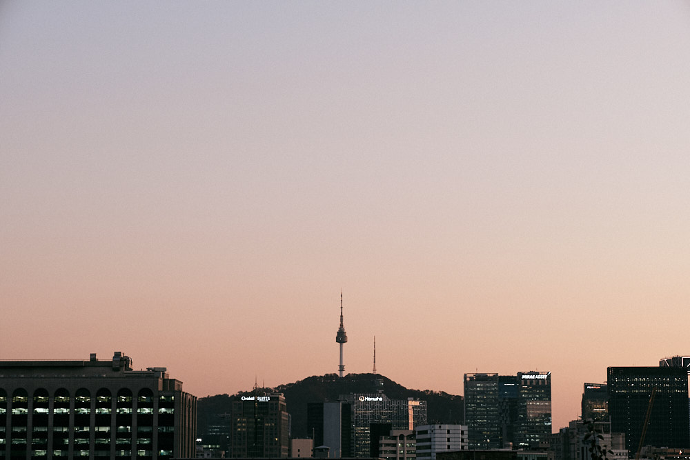 Seoul skyline, Seoul Tower