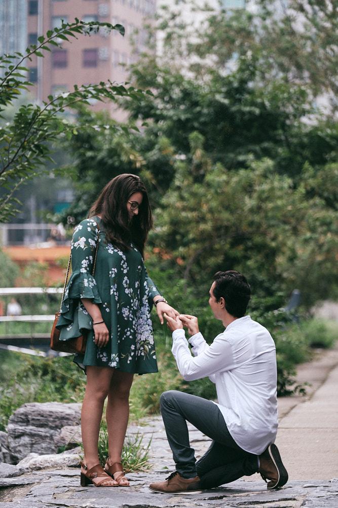 Erick's Proposal at Cheonggyecheon, Seoul
