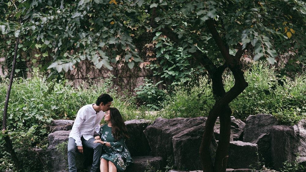 Engagement Photos at Cheonggyecheon, Seoul