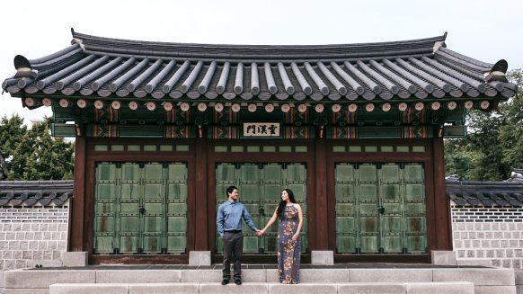 Couple Photos at Changdeokgung with Kristi and Kelson
