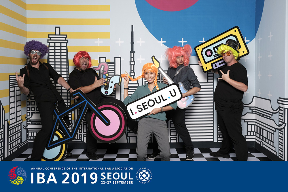 Seoul Photobooth Team - IBA Opening Party