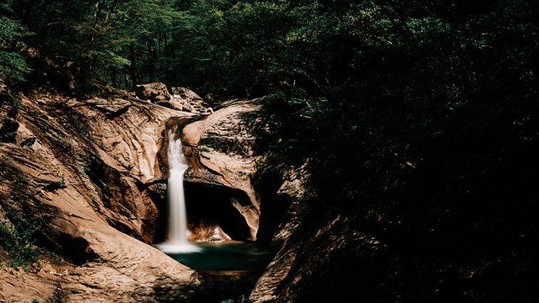 Waterfall, Seoraksan, Gangwondo