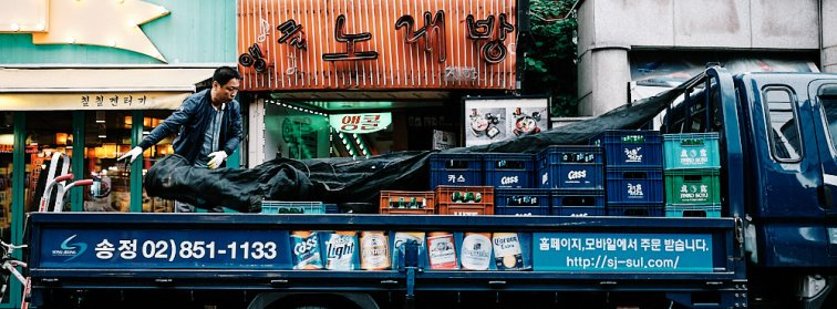Alcohol Deliveries in Seoul