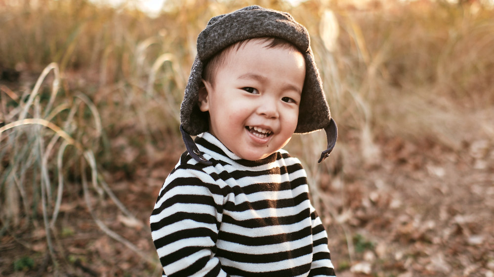 Autumn Family Photos with Pei Ling and her Family in Seoul Forest