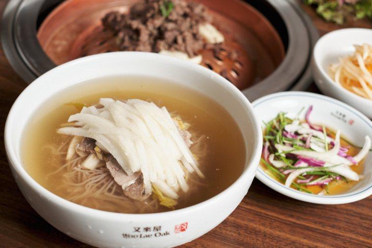 Naengmyeon at Woo Lae Oak