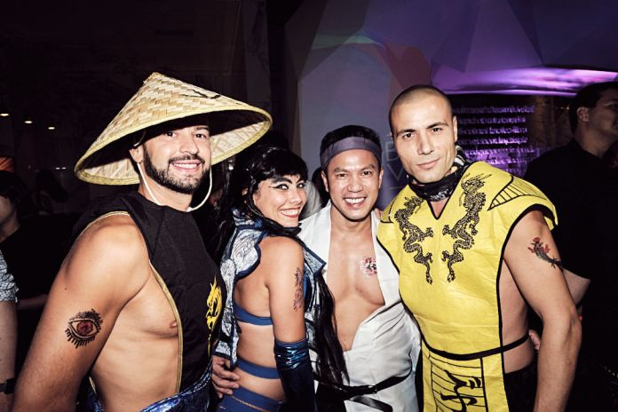 Jimmy Nguyen with Performers